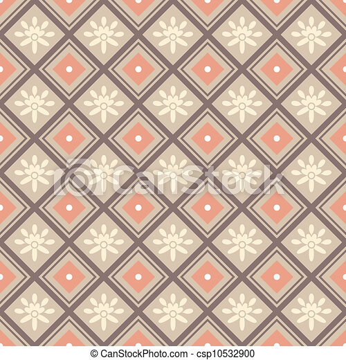 decorative seamless pattern - csp10532900