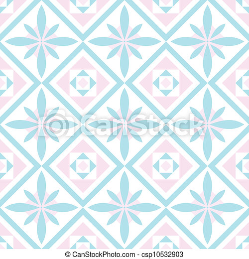 decorative seamless pattern - csp10532903
