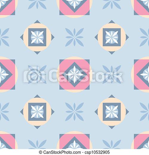 decorative seamless pattern - csp10532905