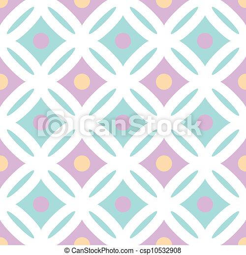 decorative seamless pattern - csp10532908