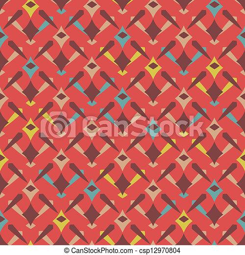 decorative seamless pattern - csp12970804
