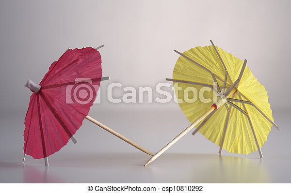 decorative umbrella - csp10810292