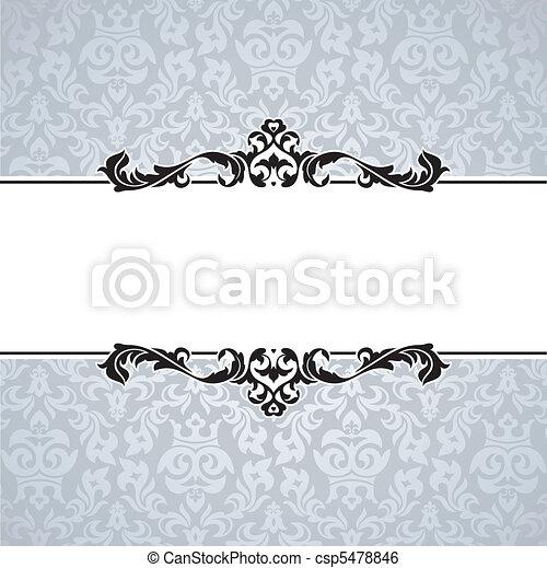 decorative vintage frame - csp5478846