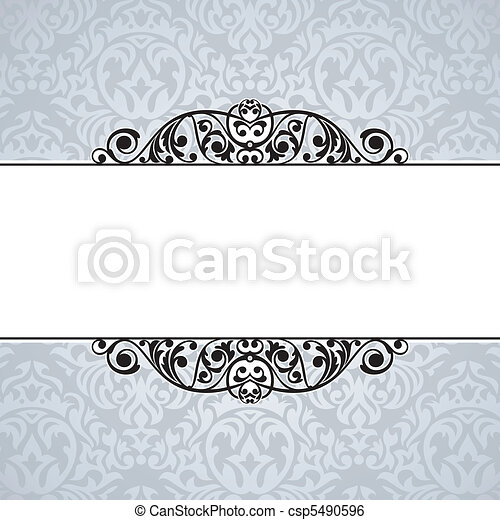 decorative vintage frame - csp5490596