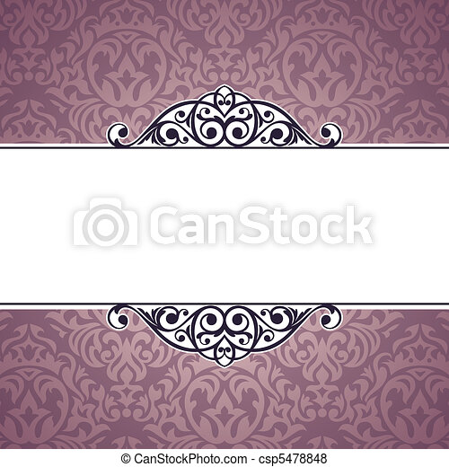 decorative vintage frame - csp5478848