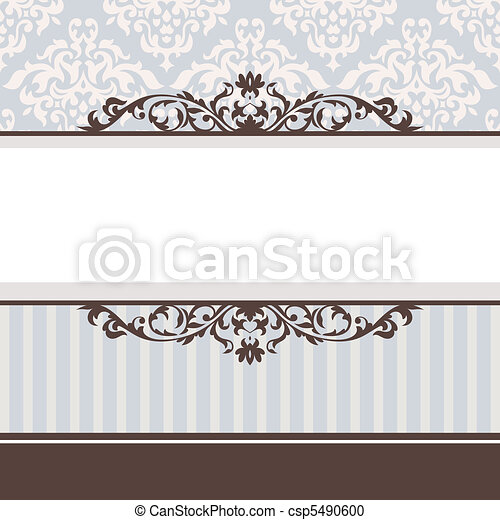 decorative vintage frame - csp5490600