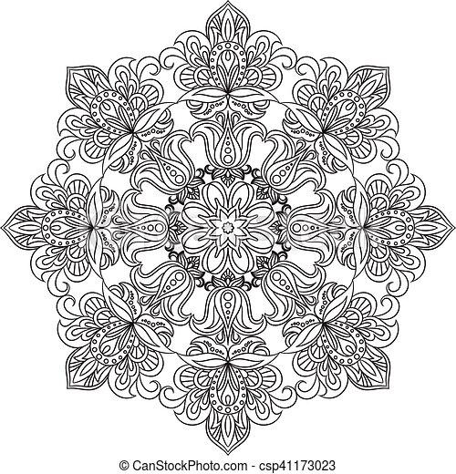 Decorativo Coloracao Ornament Anti Stress Contorno Book