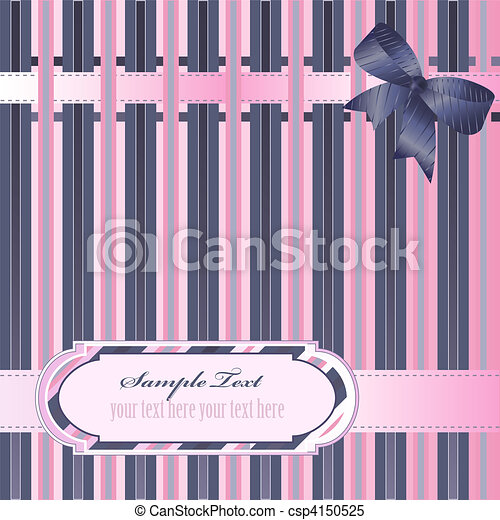 decorativo, fondo, strisce - csp4150525