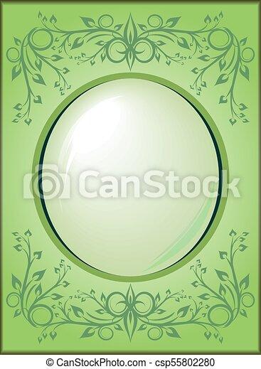Un marco decorativo - csp55802280