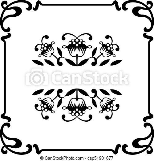 Un marco decorativo - csp51901677