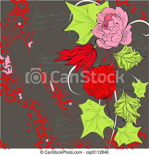 Trasfondo decorativo - csp5112846