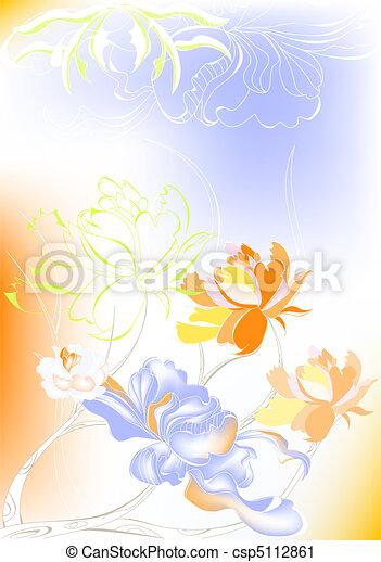 Trasfondo decorativo - csp5112861