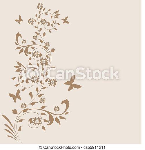 Trasfondo decorativo - csp5911211