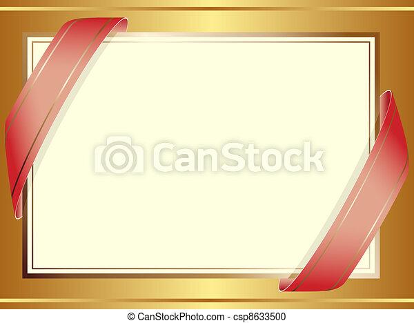 Trasfondo decorativo - csp8633500