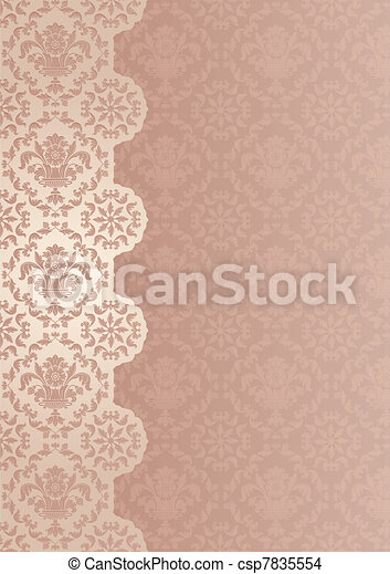 Trasfondo decorativo - csp7835554