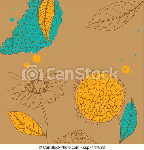 Trasfondo decorativo - csp7441622