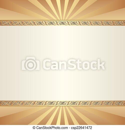 Trasfondo decorativo - csp22641472