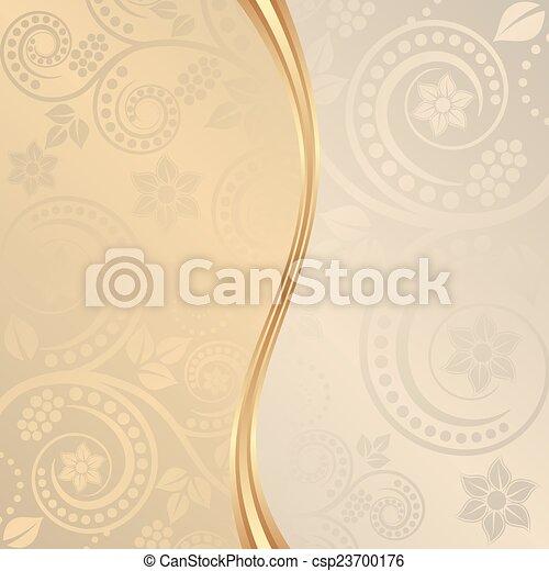 Trasfondo decorativo - csp23700176