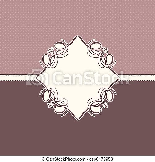 decorativo, plano de fondo - csp6173953