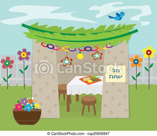 Sukkah decorativo - csp20656947