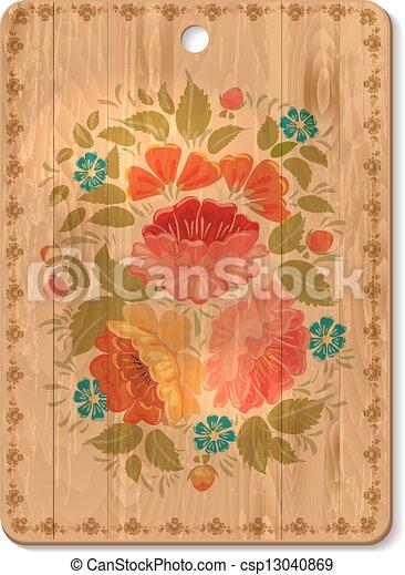 decorato, tagliere - csp13040869