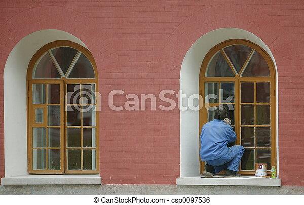 decorator, painter - csp0097536