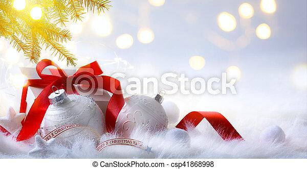 decorazione, natale - csp41868998