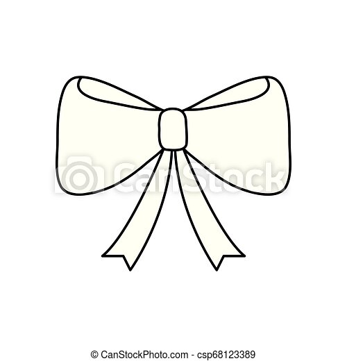 Un icono de cinta decorativa - csp68123389