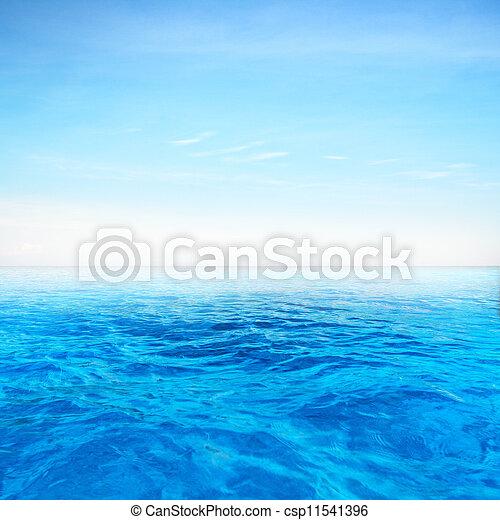 Deep blue sea - csp11541396