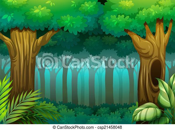 Deep Forest - csp21458048