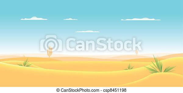 Deep Western Desert - csp8451198