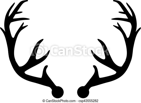 deer antler vector search clip art illustration drawings and eps rh canstockphoto com deer hunting clipart svg free deer hunting clipart images
