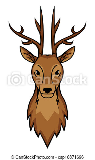 deer head eps vectors search clip art illustration drawings and rh canstockphoto com deer head clipart black and white deer head clip art free
