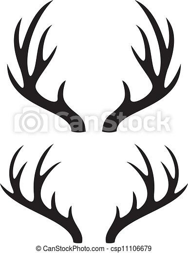deer horns - csp11106679