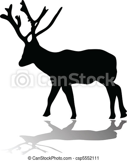 deer silhouette with shadow deer silhouette with shadow vector rh canstockphoto com shadow clipart images shadow clipart free
