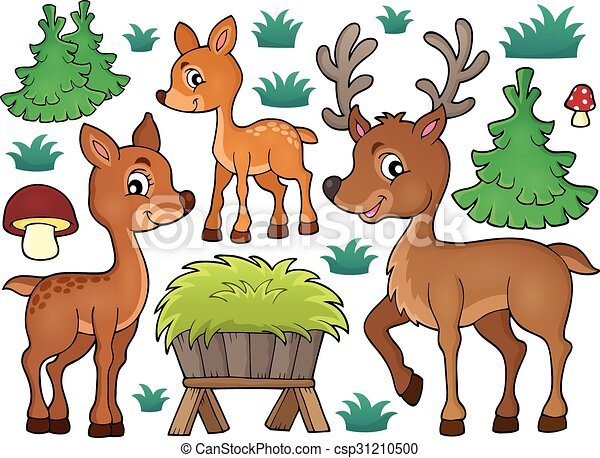 Deer theme collection 1 - csp31210500