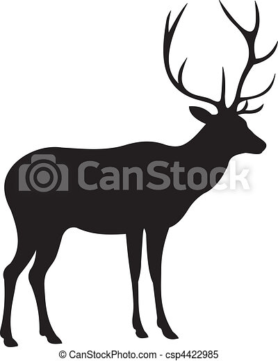 Deer vector - csp4422985