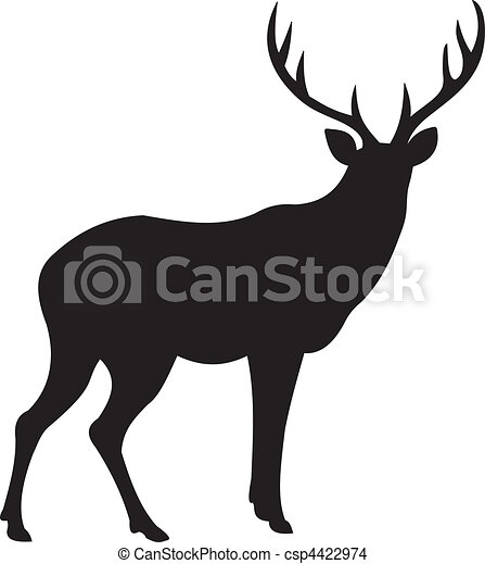 Deer vector - csp4422974