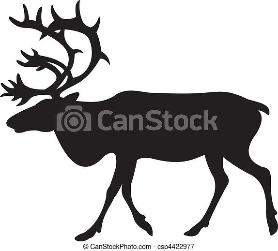 Deer vector  - csp4422977