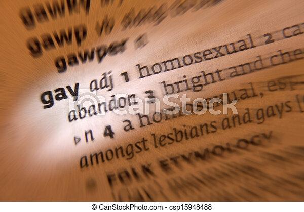 Significado homosexual diccionario