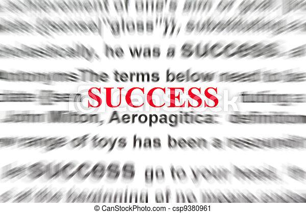 definition of success - csp9380961