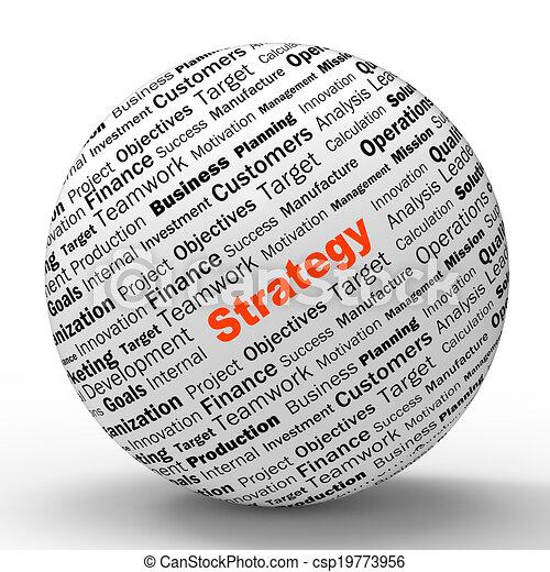 definizione, amministrazione, riuscito, esposizione, strategia, sfera, pianificazione, organizzazione, o - csp19773956