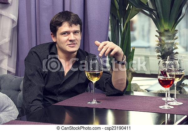 degustação vinho - csp23190411