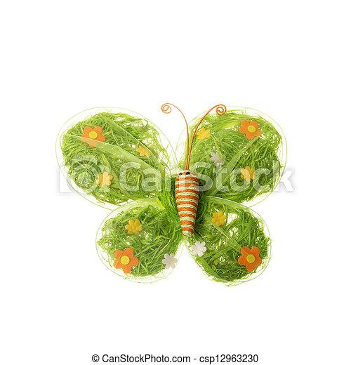 dekoráció, eredet, húsvét - csp12963230