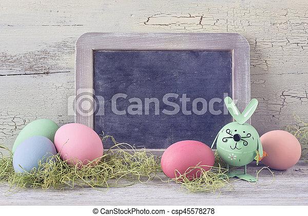 dekoráció, húsvét - csp45578278