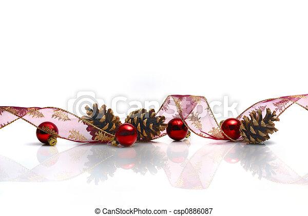 dekoráció, karácsony - csp0886087