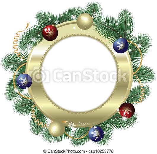 dekoráció, karácsony - csp10253778