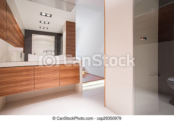 Dekoracyjny łazienka Drewno Imitacja