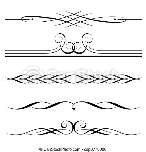 dekoratív, döntések, határ, alapismeretek, oldal - csp8778006