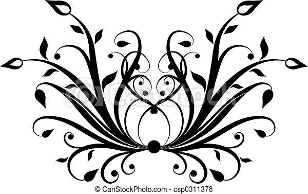 dekoratív elem - csp0311378